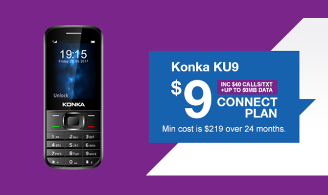 Konka KU9 - Connect $9