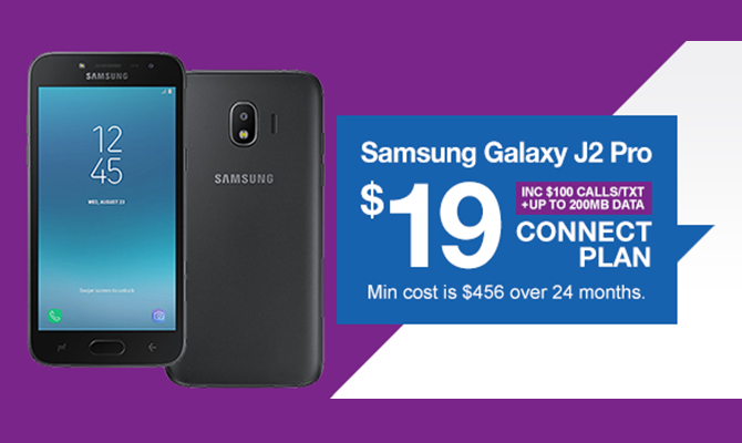 Samsung Galaxy J2 Pro - Connect $19