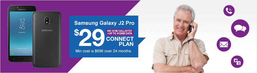 Samsung Galaxy J2 Pro - Connect $29
